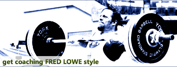 Get Coaching - Fred Lowe Style